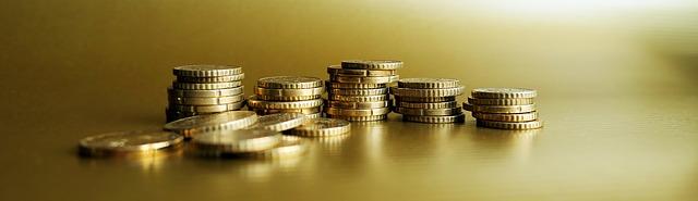komínky mincí
